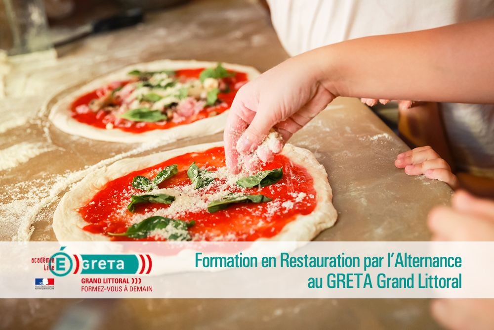 la formation en restauration par l'alternance au GRETA Grand Littoral