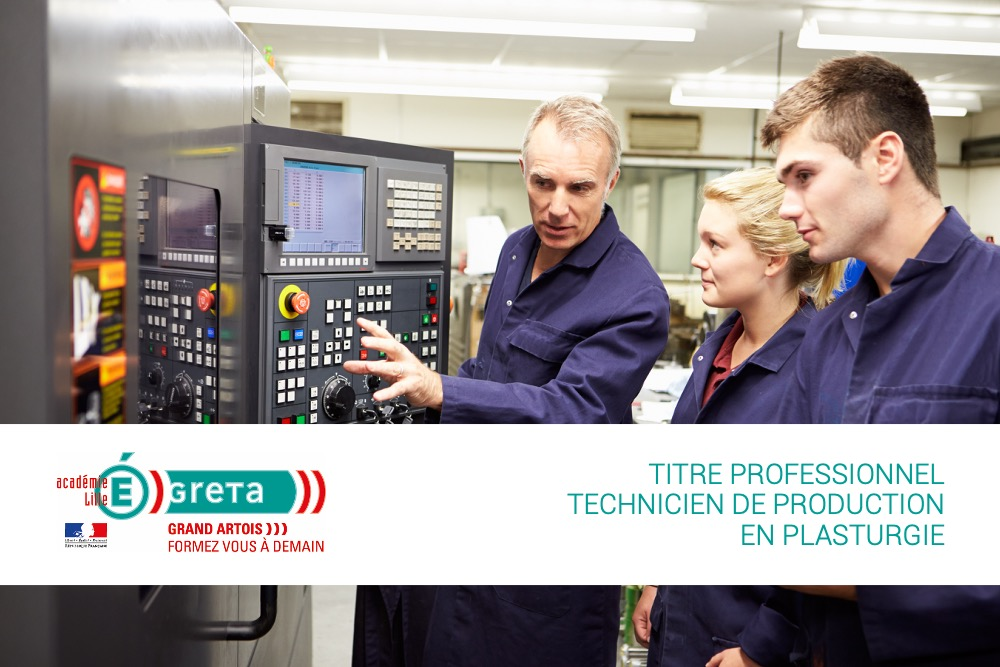 titre professionnel technicien de production en plasturgie